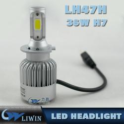 De alta calidad 12V 24V para el camión del coche todo en una lámpara principal H7 3600 lúmenes llevó llevado automotor