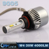 New Wholesale Car Headlight Lamp Replacements 6000k Hid D1s Led Head Lights Conversion 35W Led Scooter Headlight 50% off price 12v 35w hid light