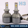 LVWON NEW Arrival !Wholesale Price 7S Auto Led Bulb Super Bright H11 9005 9006 H13 H8 H7 H4 Led Headlight Bulb 12V Car Dsco Lght hot sale car led logo laser light