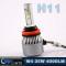 LVWON Unicversal Auto Spare Parts Car Led Headlight Bulb 12V Ledlight Car H8 H9 H11 35W 4000LM C6 Led Headlight hot car logo laser light