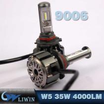 LVWON Auto Led Headlight G5 W5 35W 4000LM Each Bulb H7 H11 H13 9005 9006 H4 Car Head Led Light 6Gen 5W cree led laser car logo light