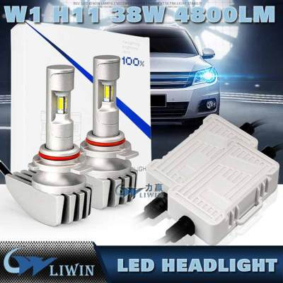Auto Parts, Led Hot Super White LED Headlight H1 H4 H13 H16 880 HB3 D1 COB/p hillips Comin 38w 12V 24V 9600LM H7 Car Light super and cool car music system lcd