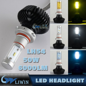 LED Auto Headlight Bulb H11 880 881 Car Led Headlight Replace Halogen And HID Kit Car Bulb 50W Led Headlamp Light new car logos with names