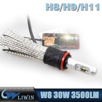 LVWON New Arrival X4 30W 3500LM Car Headlamps H8/H9/H11 Auto Head Lights Led For Cars hot sale led car door logo laser projector light