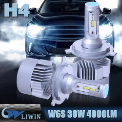 LVWON Auto Accessories New 30W H7 H1 H3 H4 H8 H9 H11 H13 Headlight Kit 9005 9006 Car Headlamp Bulb 3800LM Bus Led Head Light New laser light for Branded car names and logos