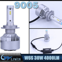 Motorcycle W6S LED Car Headlight 9005 HB3 4000lm Plips LED Car Bulb 60W 9006 HB4 Best Led Headlight Bulbs 12v 3w 5w projection ghost shadow