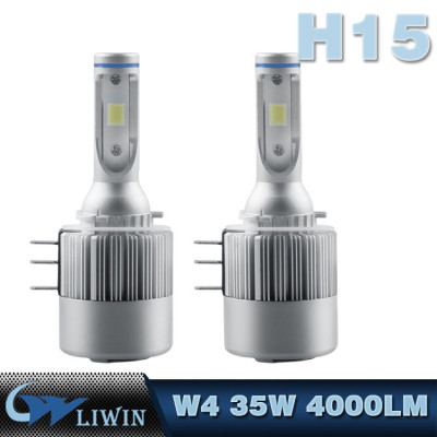 LVWON C6F Led Headlight H8 H9 H11 6000K 12V 36W 4000LM for LED Projector Headlight H15 7th Generation Led Headlight 12v 3w car ghost light logo