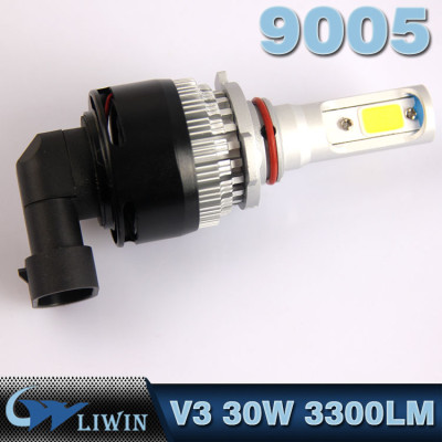 LVWON LED Headlight Bulbs 12V 30W Auto LED Lamps HB3 9005 LED Bulbs All-in-one Conversion Kit for V18 Led Headlight 12v 5w new cree 8th version ghost shadow light