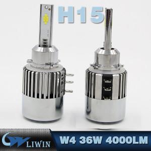 LVWON Lattest Kit Upgrade Луковицы водить фара комплект H7 H1 H11 H13 9005 (HB3) 9006 (HB4) головной лампы Bus H15 LED H4 фар новые спрятанный набор h7