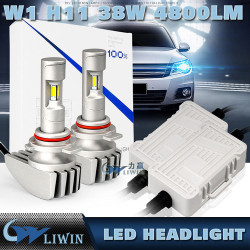 Автозапчасти, Led Горячие Super White LED фара H1 H4 H13 H16 880 HB3 D1 COB / р hillips Comin 38W 12V 24V 9600LM H7 автомобиля Свет 35w, 55w ксенон hid комплекты с h1
