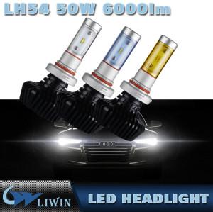 LED Авто Фара лампа H11 880 881 автомобиль водить фара Заменить Галогенные лампы и HID Kit Car 50W светодиодные фары света горячее надувательство автомобиля колеса свет
