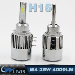 LVWON Lattest Kit Upgrade фар Лампочки светодиодные Kit H1 H7 H11 H13 9005 (HB3) 9006 (HB4) лампы головного света Буса H15 H4 LED фары горячая продажа гирлянда привело