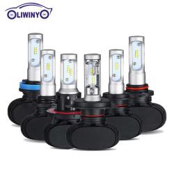 Лучшая цена H8 H9 H10 H11 Осветительные лампы Автоматическая противотуманная фара Led Headlight 38W 3800LM Auto Led Light