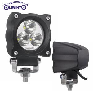 liwiny 9w led machine work light 12v led off road light for all car