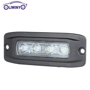 liwiny 12v 24v LED Auto Light Marine Accessories 12w LED Work Light best price led light bar truck