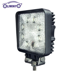 liwiny custom 24v led machine work light 4.3 inch led work light 24w