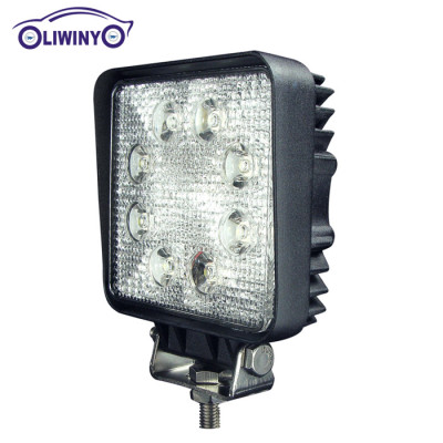 liwiny custom 24v led machine work light 4.3 inch led work light 24w