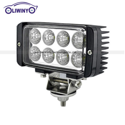 liwiny 10-30v rechargeable led magnetic work light 4.5 inch 24w atv led work light