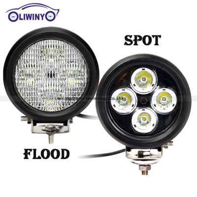 liwiny hottest offroad work light 4.7 inch 40w led 12v boat lights