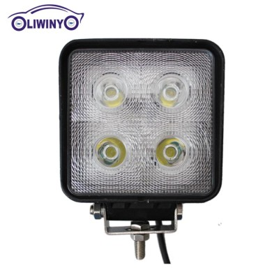 liwiny hottest waterproof machine work lights 4.3 inch 40w led light bulbs work