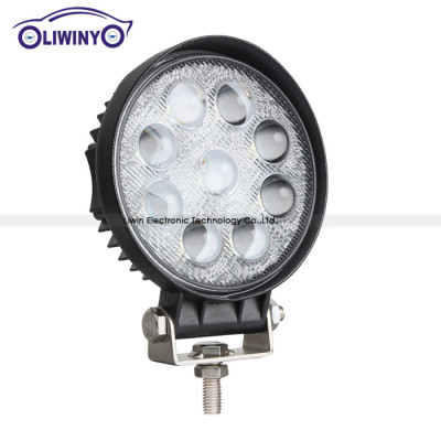 liwiny super heavy duty led working lights 4.5 inch 42w 4d led car lights 12v