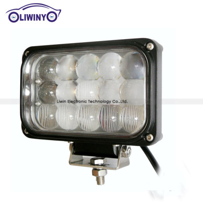 liwiny 45w car off road light bar 10-30v long life led driving light