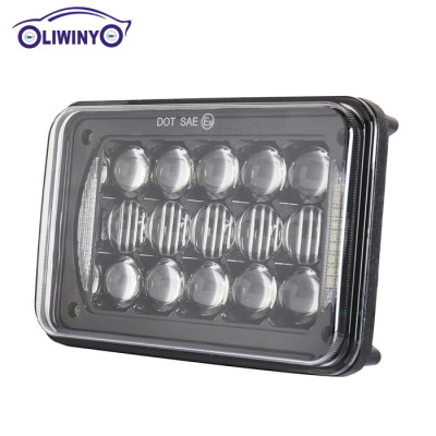 liwiny led flexible magnetic work light 5 inch 48w led garage work light