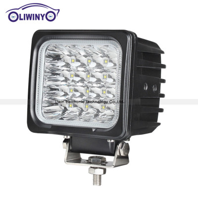 liwin china 24v led machine work light 5 inch 48w led vehicle lights