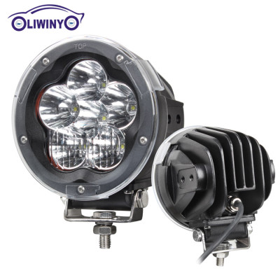 liwiny super led flood work light 5 inch 90w led offroad worklight