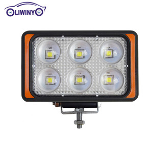 liwiny 10-30v 60w 2880lm LW-F060 car led shoot light for jeep high quality 35W 55W led driving lights