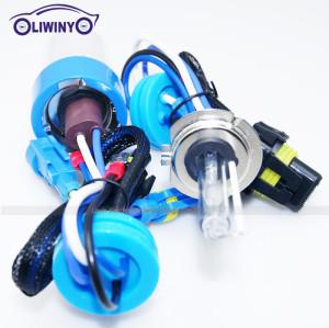 liwiny hid xenon bulb 12v 35w lighting bulb 5th fast start high lumen hid xenon bulb h7