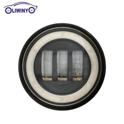 liwiny 4.5 inch led fog light 10-30v 30W 1440LM LW-4030DA car led light bar