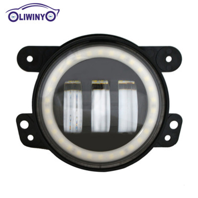 liwiny 4.0 inch led fog light 10-30v 30W 1440LM 3030DA car led work light