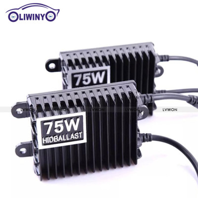 Liwin China brand Lowest price and good quality 12v 75w hid light for auto engine automobiles