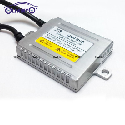Liwiny High quality ERROR FREE X3 35w HID CANBUS Ballast for POLO auto