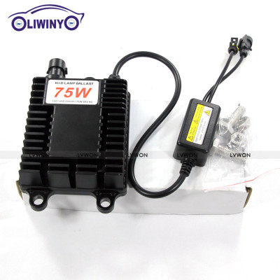 good quality magnetic ballast manufacturer Auto Led Headlight 12V 75W Hid Xenon Ballast Normal Hid Off Road Driving Light