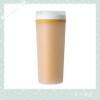 Safe transperant plastic water bottle with lid drinkingware