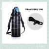 plastic thermos cup convenience heat preservation long