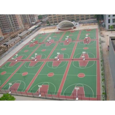 PU sports surface