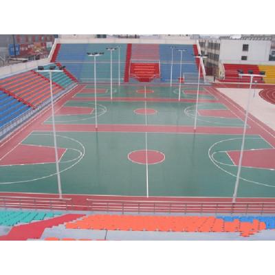 PU outdoor & indoor basketball court