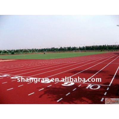 polyurethane rubber racetrack
