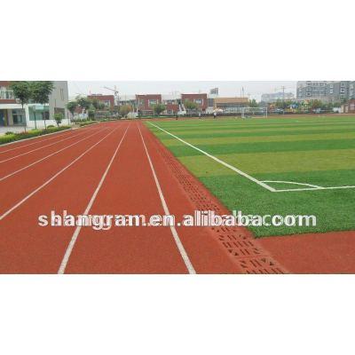 plastic jogging track material