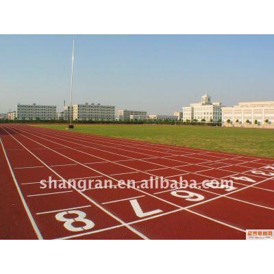 plastic racetrack running track material