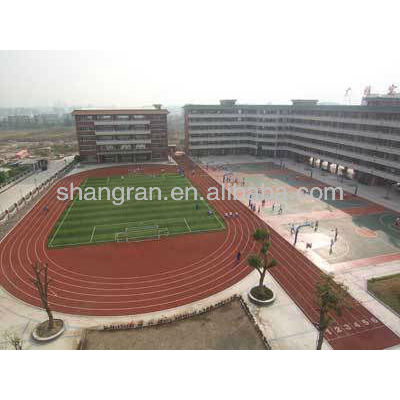 rubber running track material with best price