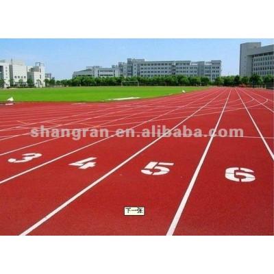 Ventilation rubber running track