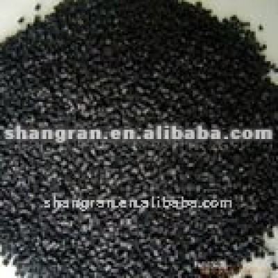 Black SBR rubber granules for sports courts