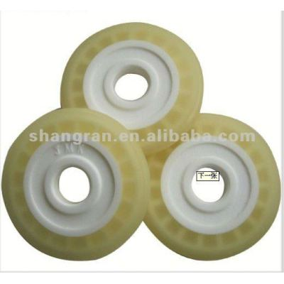 Castable polyurethane for rollers