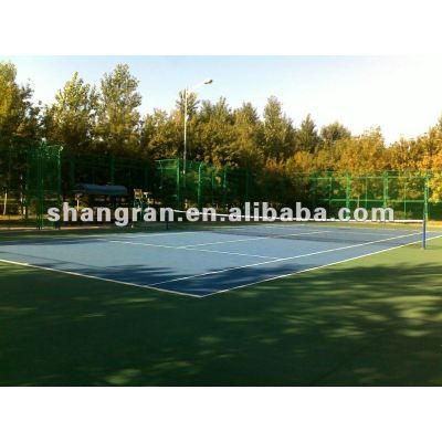 PU court tennis court