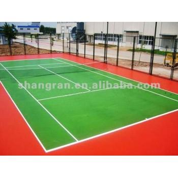 tennis rubber court