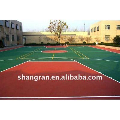 Hot sale!!! Anti-slip rubber sports court